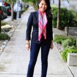 Lookbook: Pink Scarf