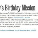 Billy's Birthday Mission – please help!
