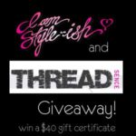 Threadsence Giveaway!