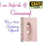 $100 Nordstrom giftcard giveaway!