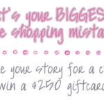 Be a Savvy Online Shopper – win $250!