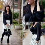 Lookbook: Polka Dot and Bow Ties
