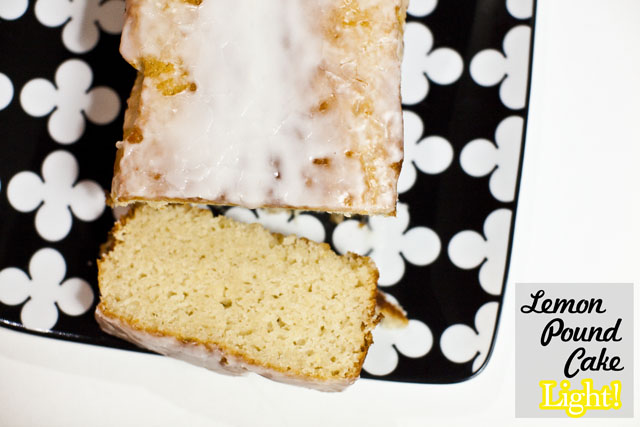 Substituting Butter In Lemon Pound Cake