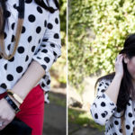 Lookbook: Red, White and Dots