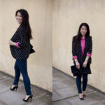 Lookbook: Polka Dot Blazer