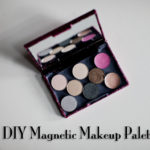 DIY Magnetic Makeup Palette