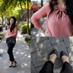 Lookbook: Coral and Leather