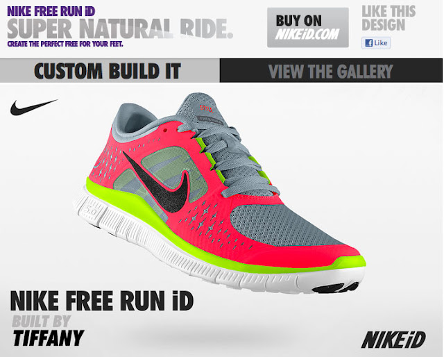 16b45cd5d Nike kindly offered me a chance to try out the Nike LunarGlide iD running  shoes. I was excited to design my own shoe again! The colors this time were  a ...