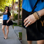 Lookbook: Blue and Lace