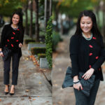 Lookbook: Lipstick & Polka Dots