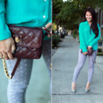Lookbook: Mint + Polka Dots