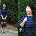 Lookbook: Puff Sleeves and DIY skirt