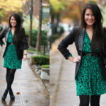 Lookbook: Green Print and Chanel