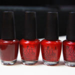 OPI Skyfall Collection – the reds