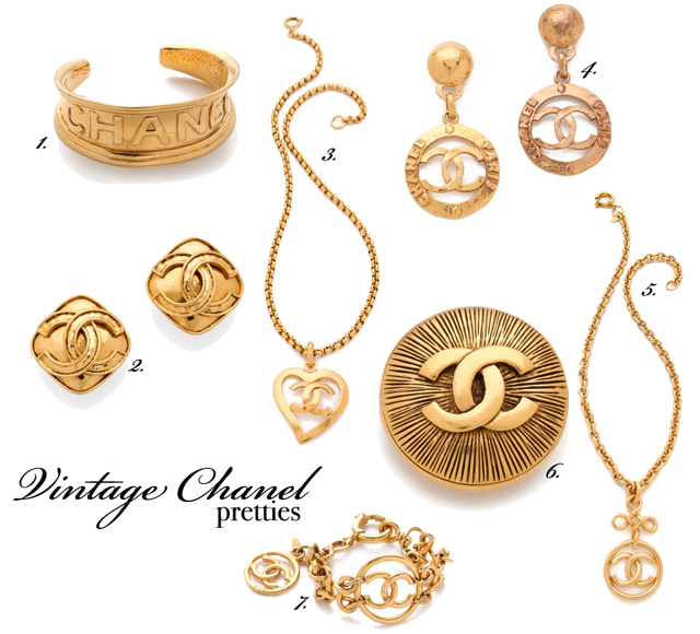 where to buy vintage Chanel - Gold Chanel Ring