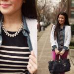 Lookbook: Tweed, Chambray, Stripes