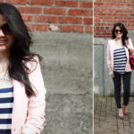 Lookbook: Stripes and Polka dot jeans