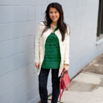 Lookbook: Stripes and Lace