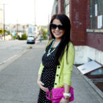 Lookbook: Neon Polka Dots