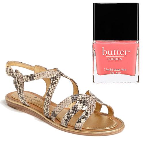 Sandals + Nail Polish Pairings