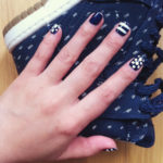 Navy Nails and Nail Art