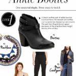 How to Style: Ankle Booties