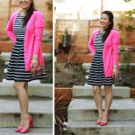 Lookbook: Hot Pink and Stripes