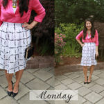 Weekly Outfits: Skirts and Dresses