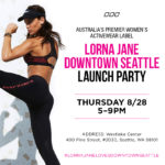 Lorna Jane Store Opening – Seattle and Bellevue – $50 Giveaway!