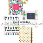 2015 Agendas: 4 Chic (and Highly Recommended) Day Planners