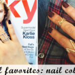 Fall Nail Colors (and a how to with Press On nails)