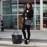 Lookbook: All black and Adora Bag Review