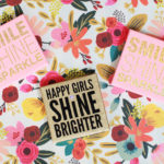 Easy DIY: Glitter Quotes on Canvas