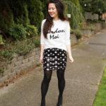 Lookbook: Sequin Star Skirt