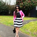 Lookbook: Striped Skirt