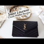 Saint Laurent Monogramme Matelasse Chain Wallet Review + Video