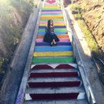 Lookbook: Silverlake Heart Stairs