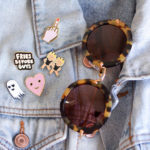 How to Style Enamel Pins