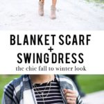 Shop the Look: Swing Dress + Blanket Scarf