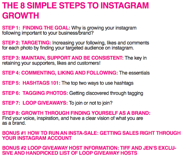 8 steps to grow your Instagram followers