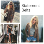 The Most Functional Trend: Statement Belts