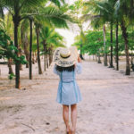 Lookbook: Out of Office (DIY sequin hat)