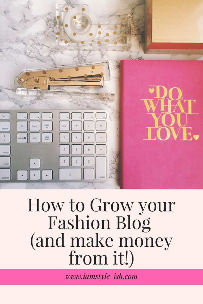 How to grow your fashion blog and make money from it