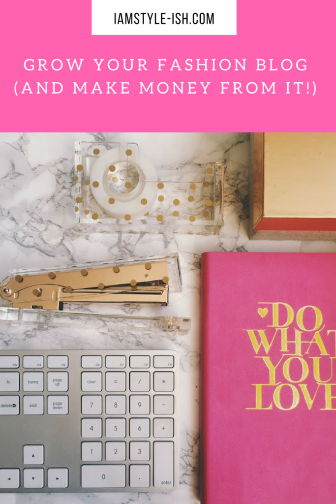 How to grow your fashion blog