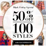 Black Friday 50% off sale: T&J Designs, Nordstrom, Amazon & Designer Sale roundup!