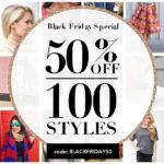 Black Friday 50% off sale: T&J Designs, Nordstrom, Amazon & Designer Sale roundup!