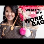 What's in my Work Bag: Louis Vuitton Neverfull MM