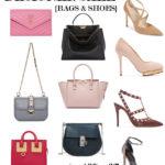 Designer shoe and bag sale! Valentino, Manolo Blahnik, Saint Laurent