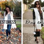 Petite Styling: The Vest Dress
