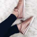 Stylish Sneakers: Rose Gold Nike Cortez
